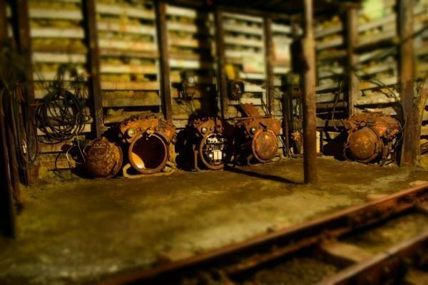 kopalnia, sprzęt górniczy